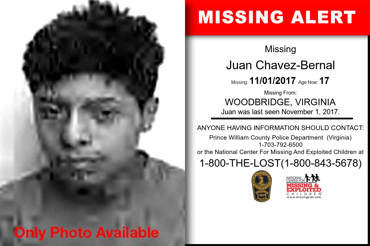 Juan_Chavez-Bernal missing in Virginia