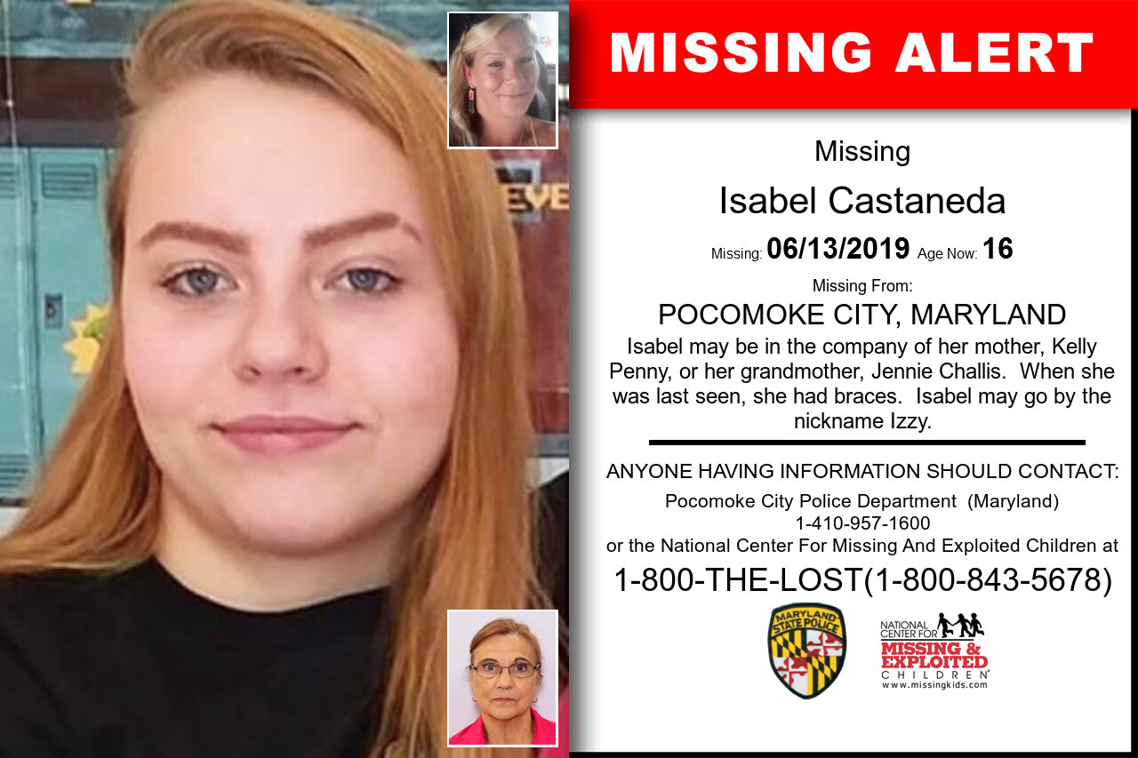 ISABEL_CASTANEDA missing in Maryland
