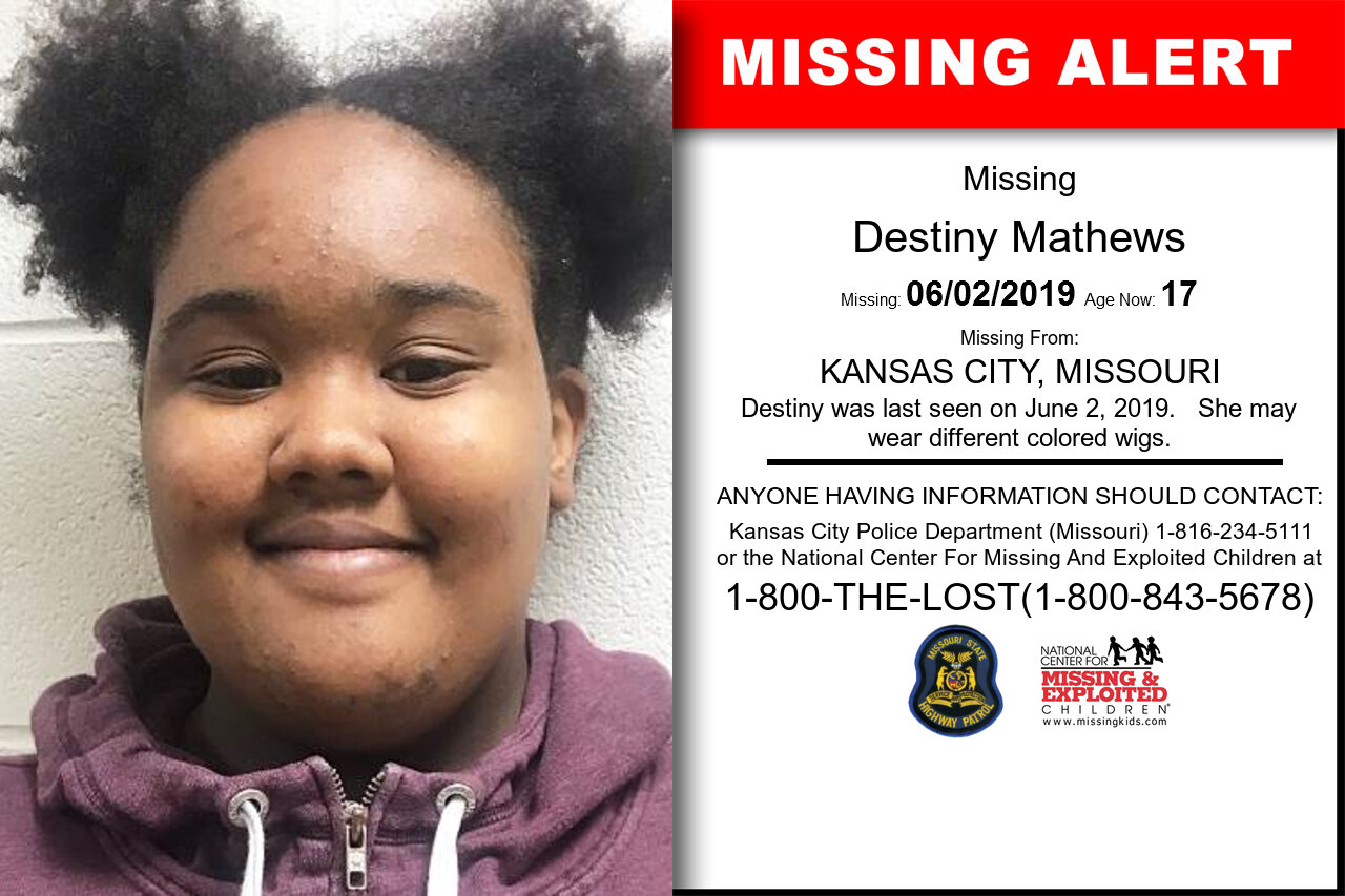 Destiny_Mathews missing in Missouri