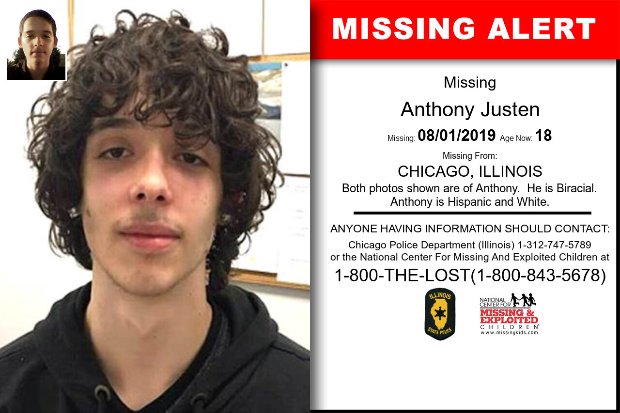 ANTHONY_JUSTEN missing in Illinois