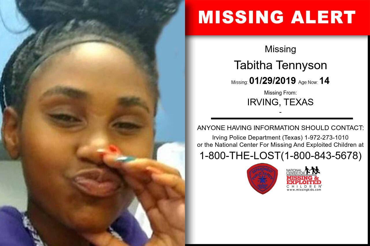Tabitha_Tennyson missing in Texas