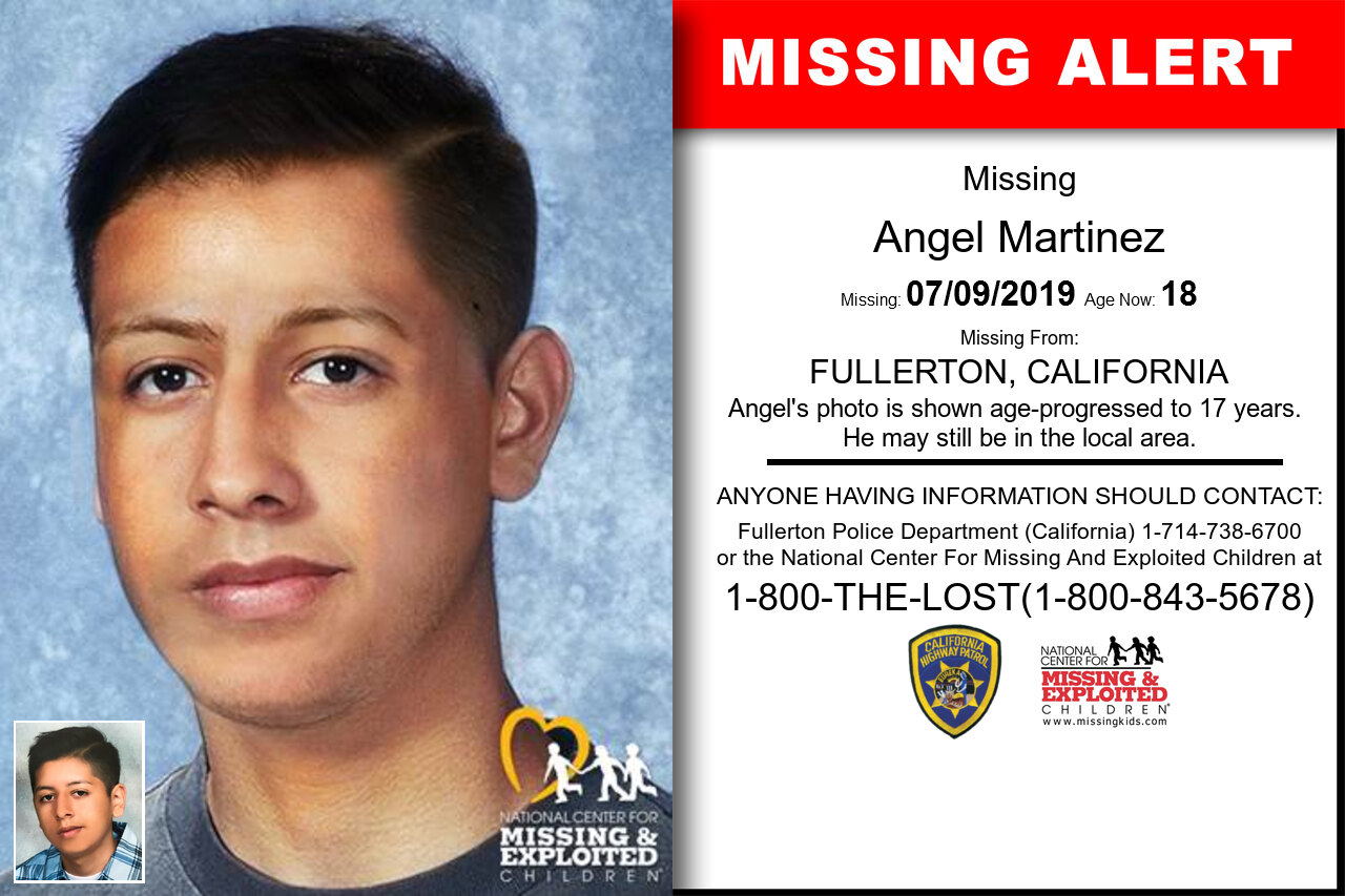 Angel_Martinez missing in California