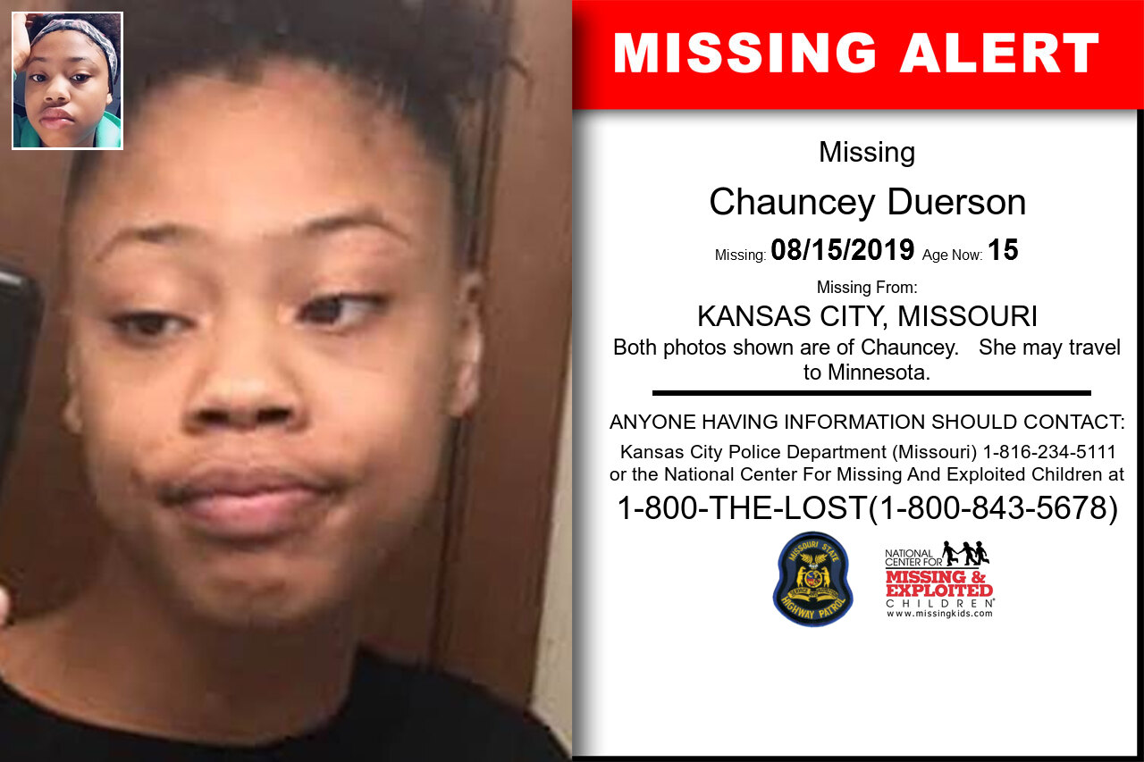 Chauncey_Duerson missing in Missouri