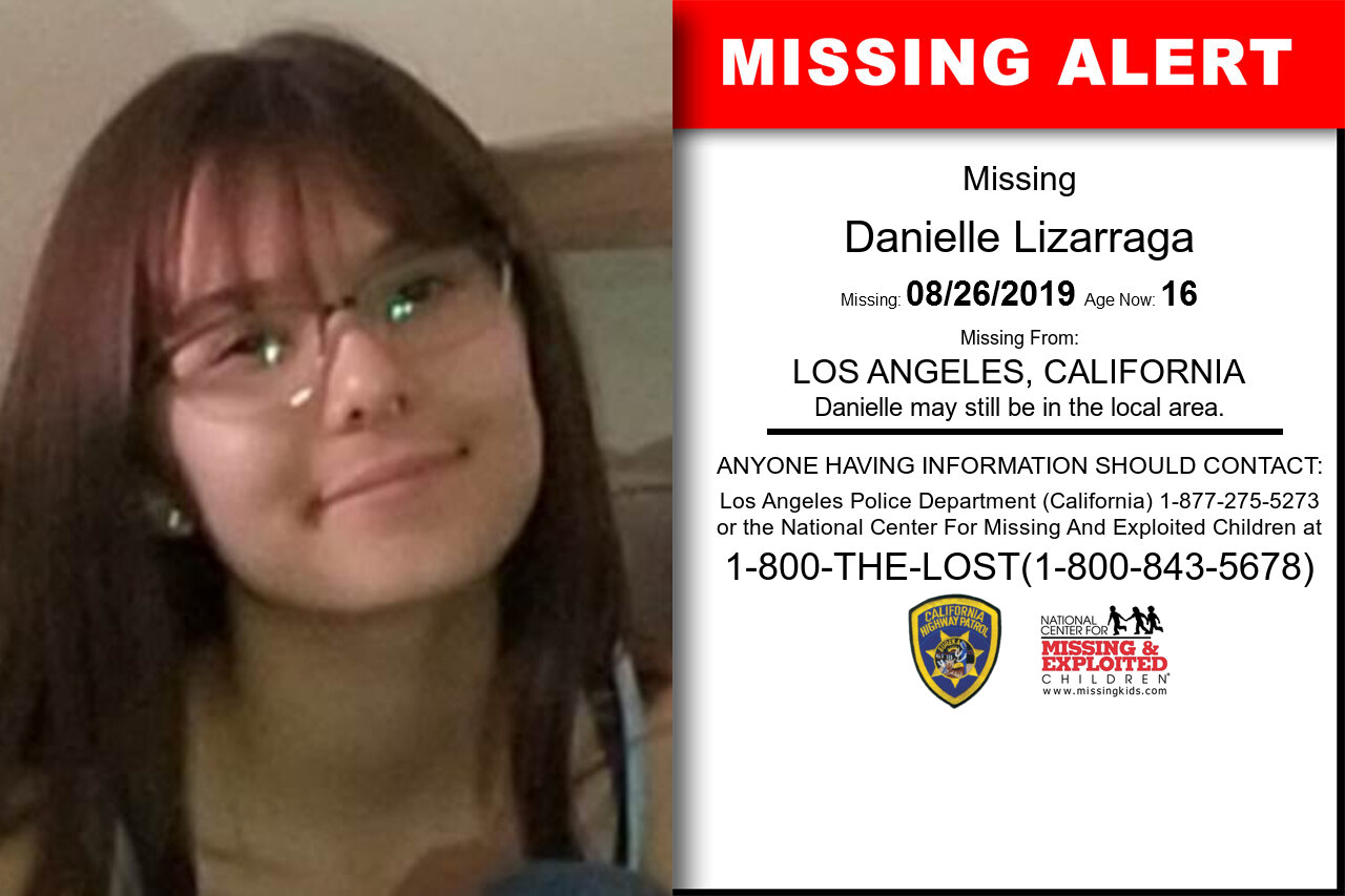 Danielle_Lizarraga missing in California