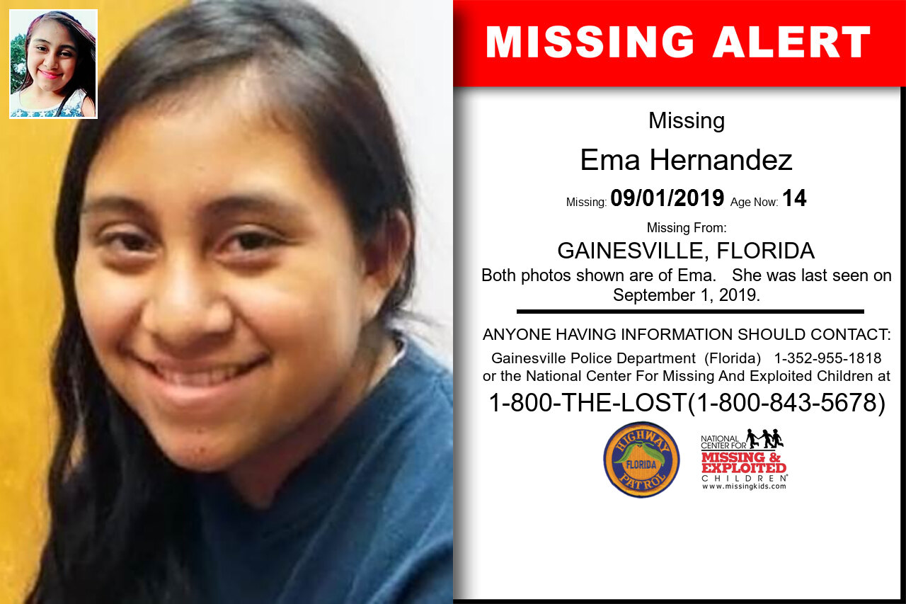 EMA_HERNANDEZ missing in Florida