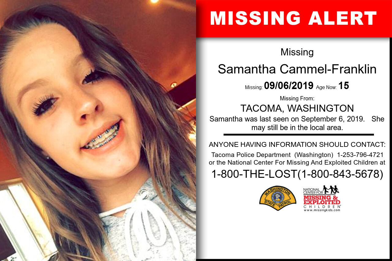 SAMANTHA_CAMMEL-FRANKLIN missing in Washington