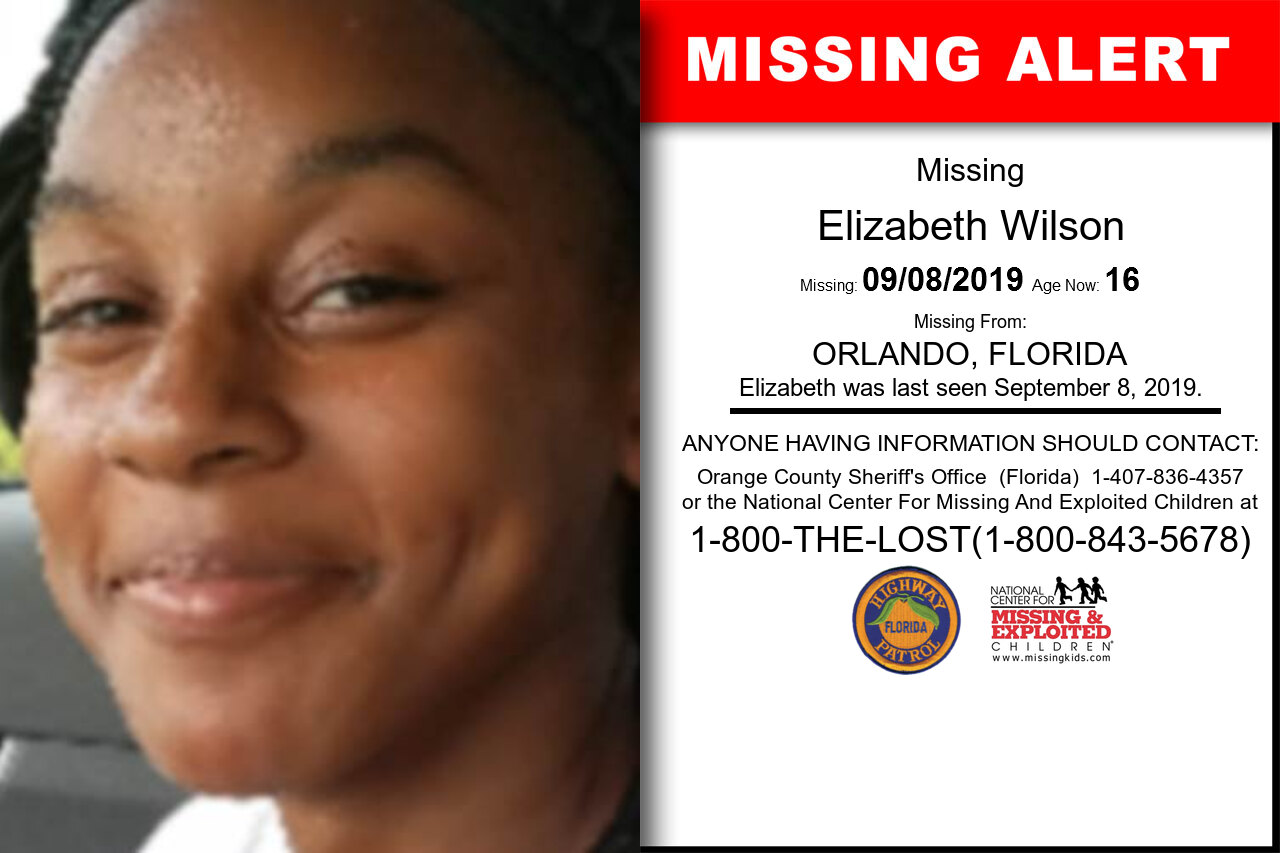 ELIZABETH_WILSON missing in Florida