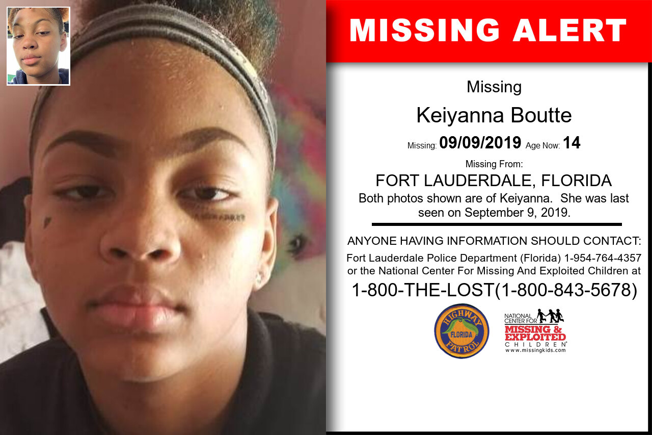 KEIYANNA_BOUTTE missing in Florida