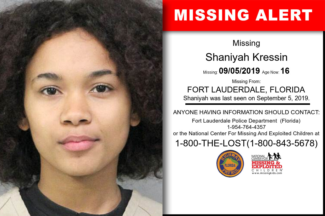 Shaniyah_Kressin missing in Florida