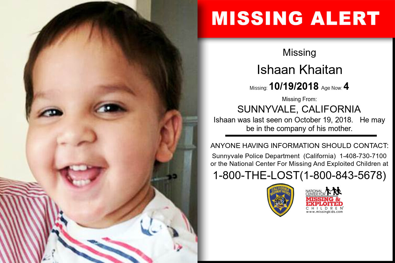 ISHAAN_KHAITAN missing in California