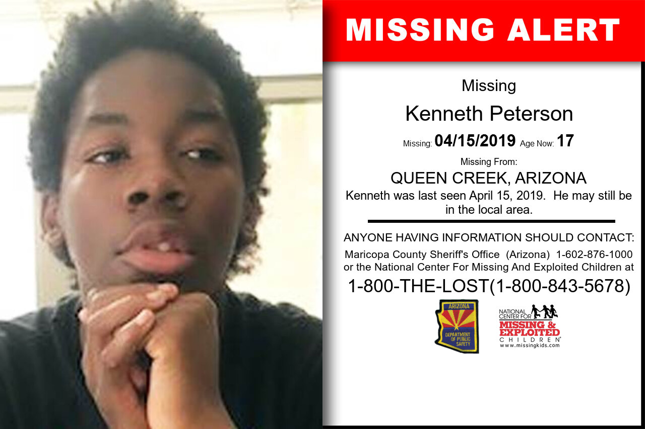 KENNETH_PETERSON missing in Arizona