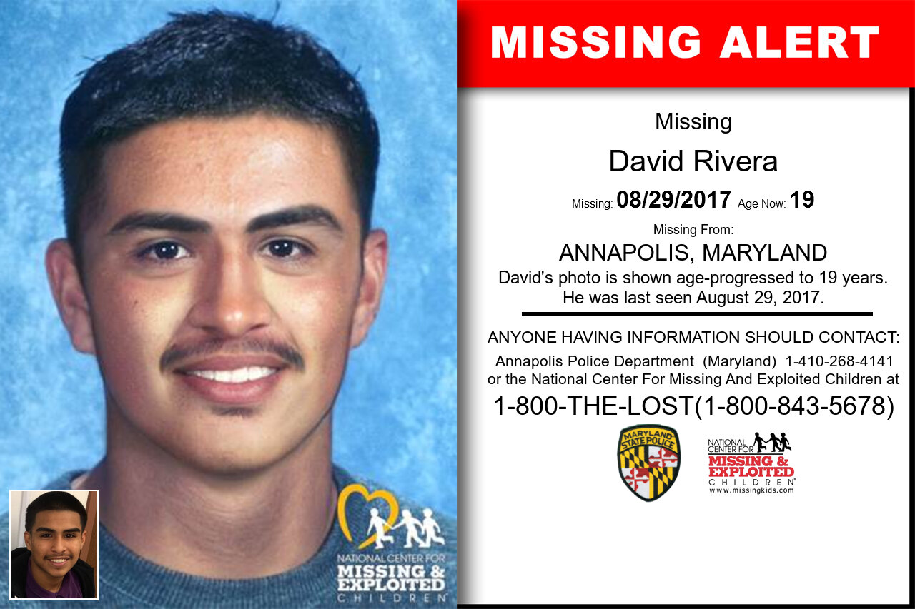 DAVID_RIVERA missing in Maryland