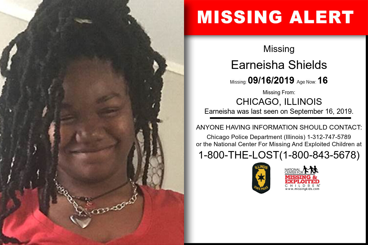 Earneisha_Shields missing in Illinois