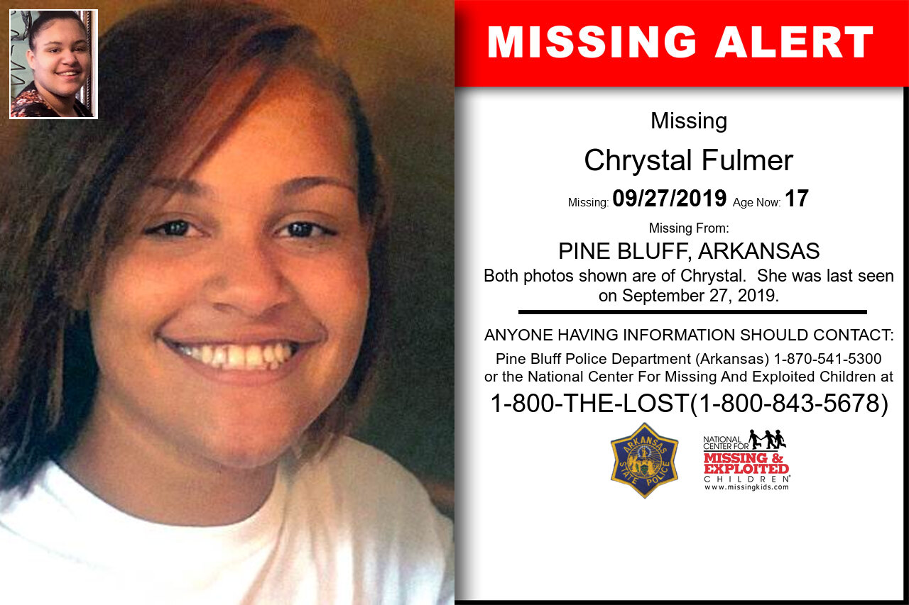 Chrystal_Fulmer missing in Arkansas
