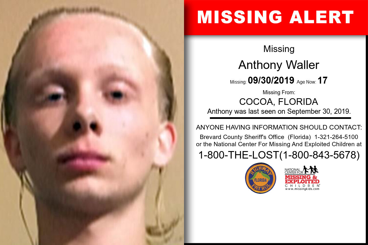 ANTHONY_WALLER missing in Florida