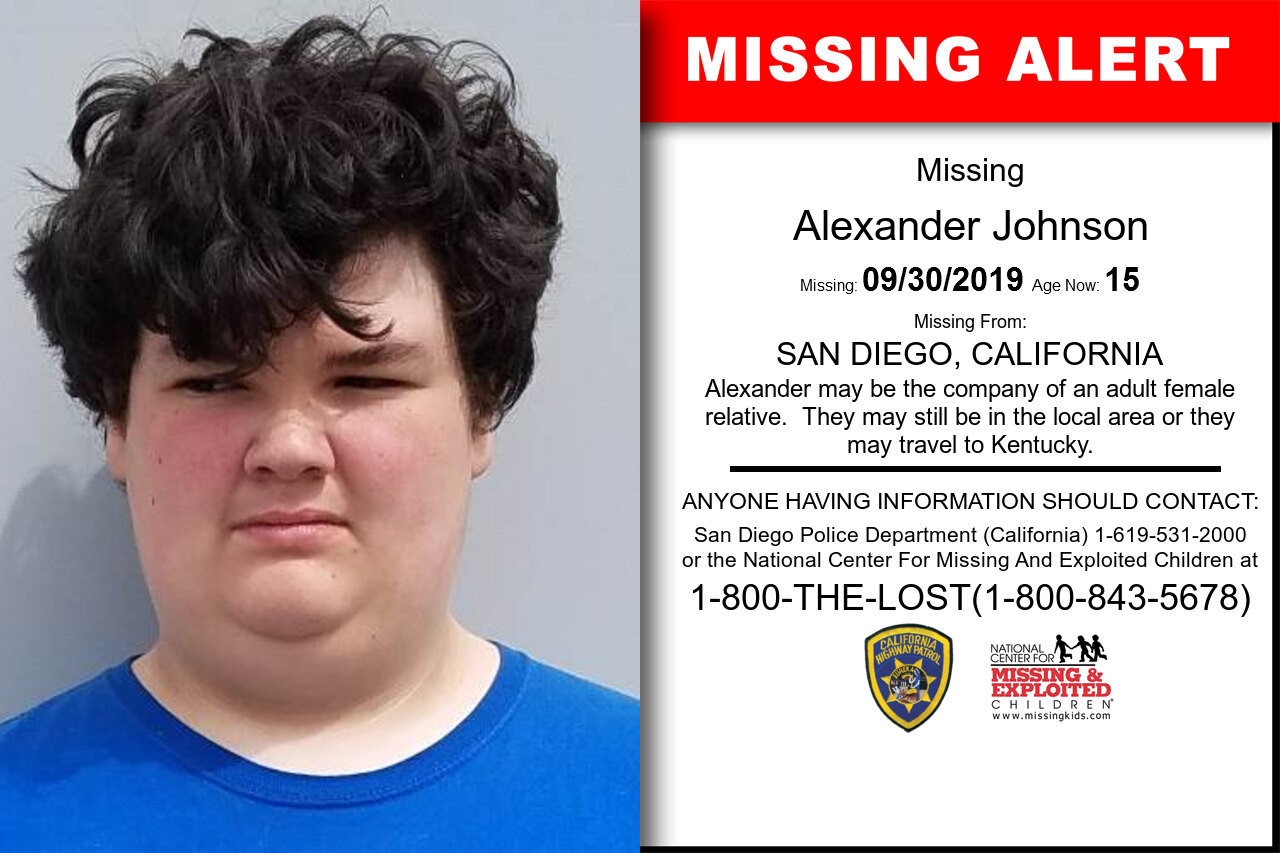 ALEXANDER_JOHNSON missing in California