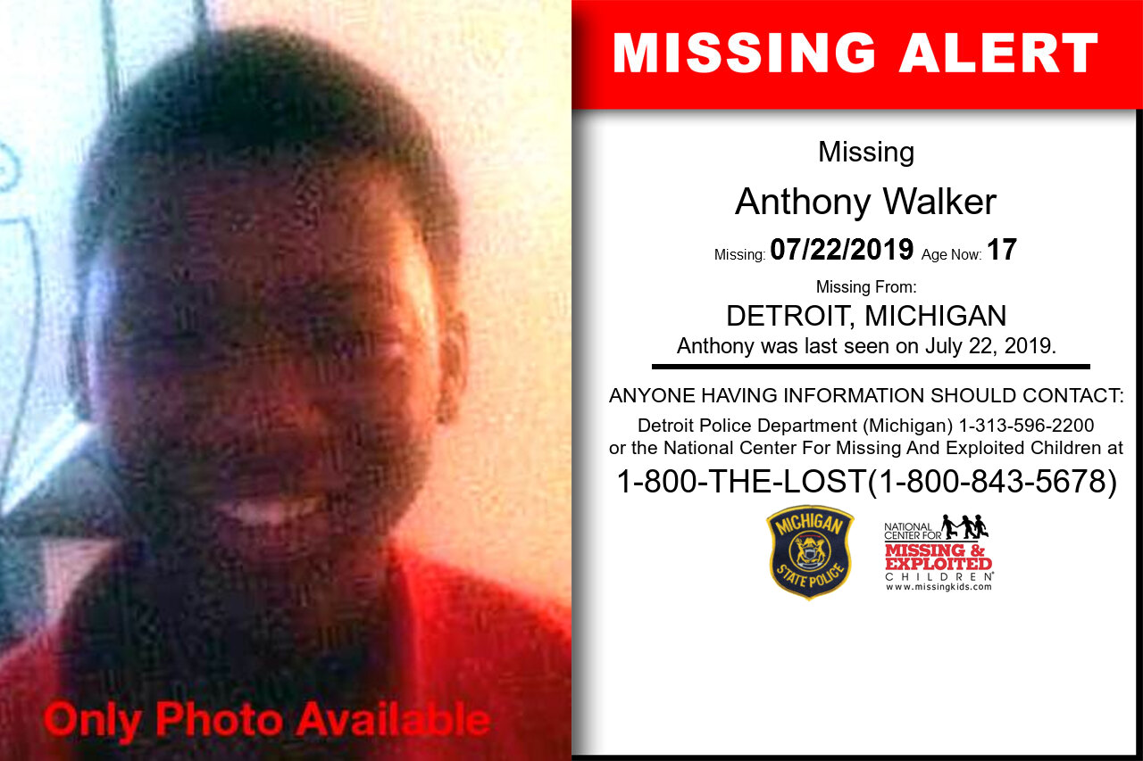Anthony_Walker missing in Michigan