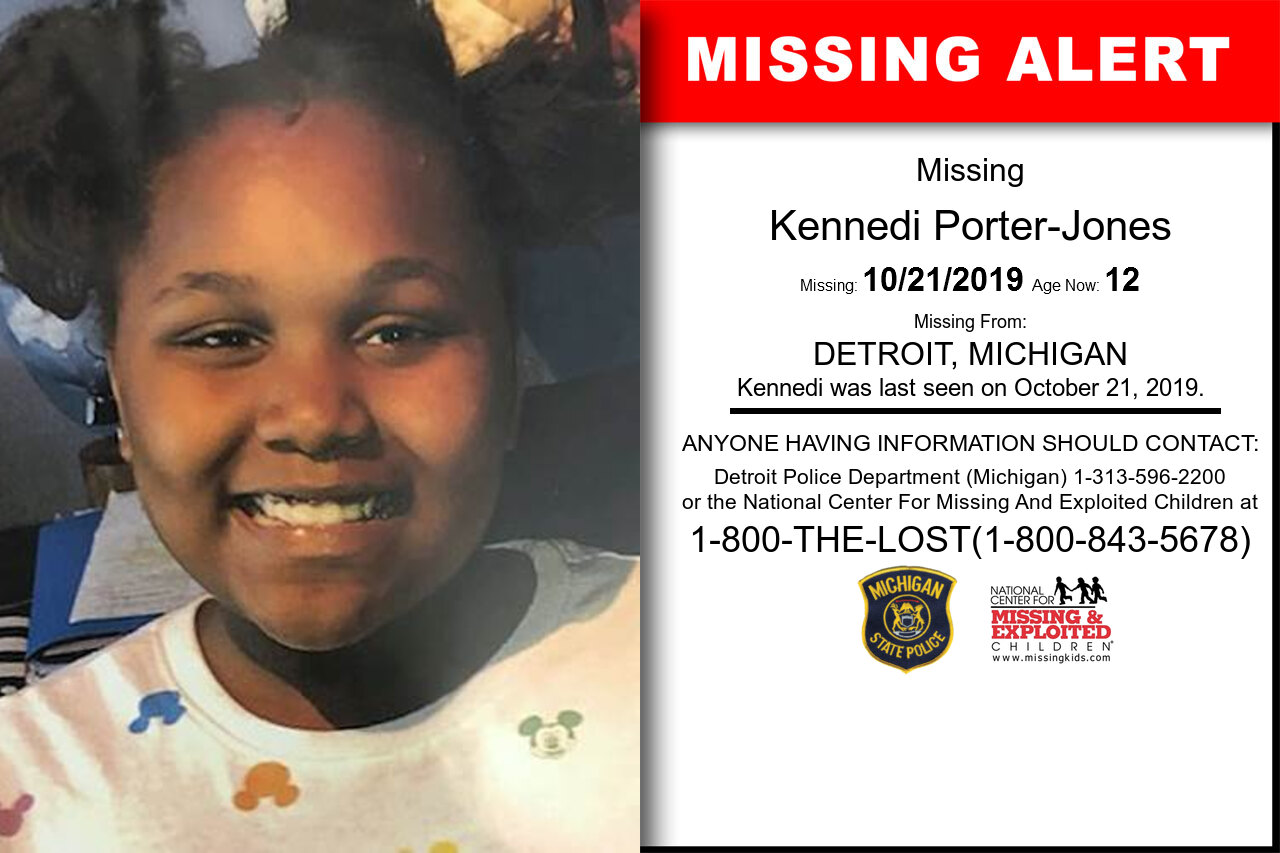 Kennedi_Porter-Jones missing in Michigan