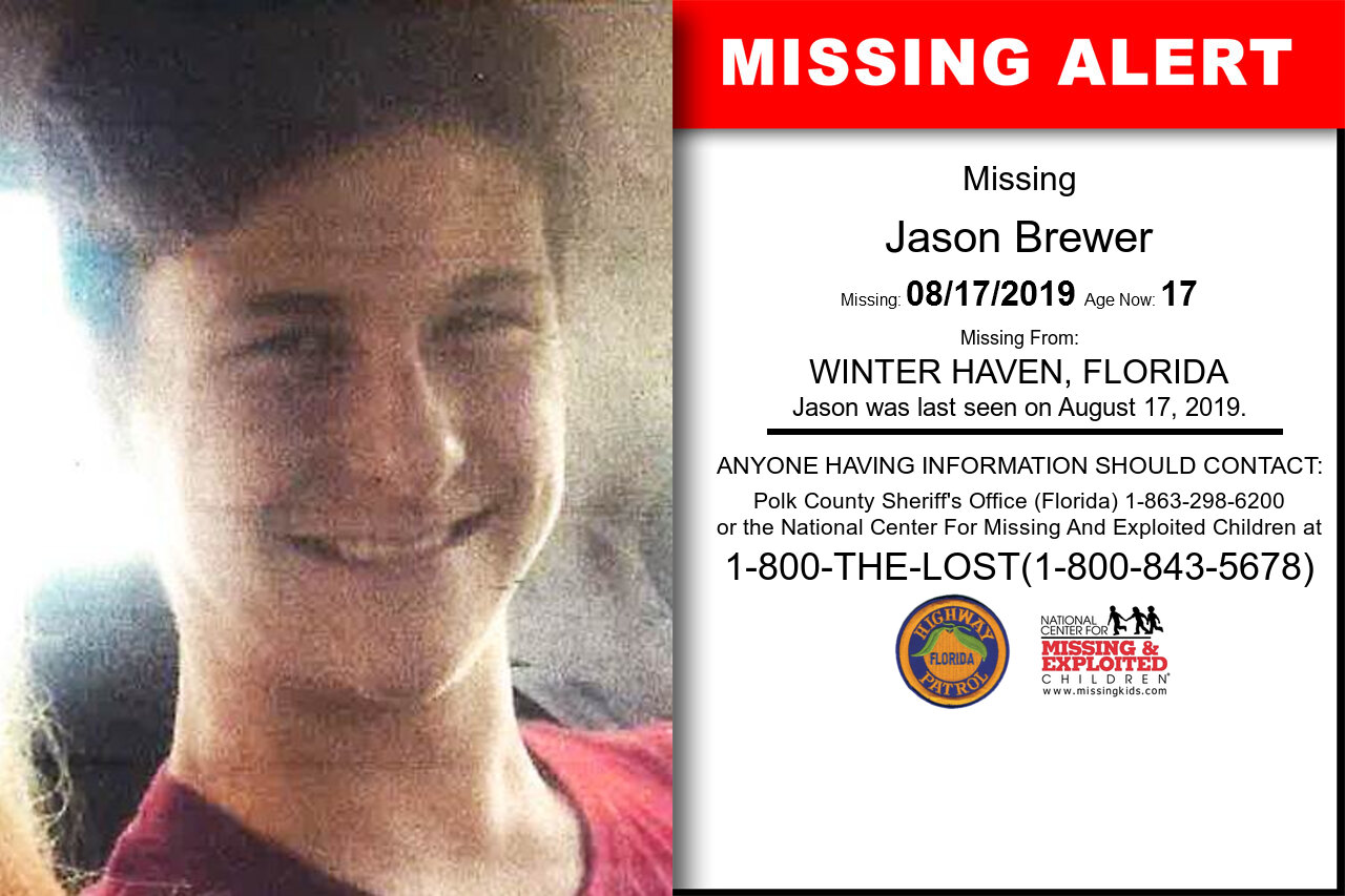 JASON_BREWER missing in Florida