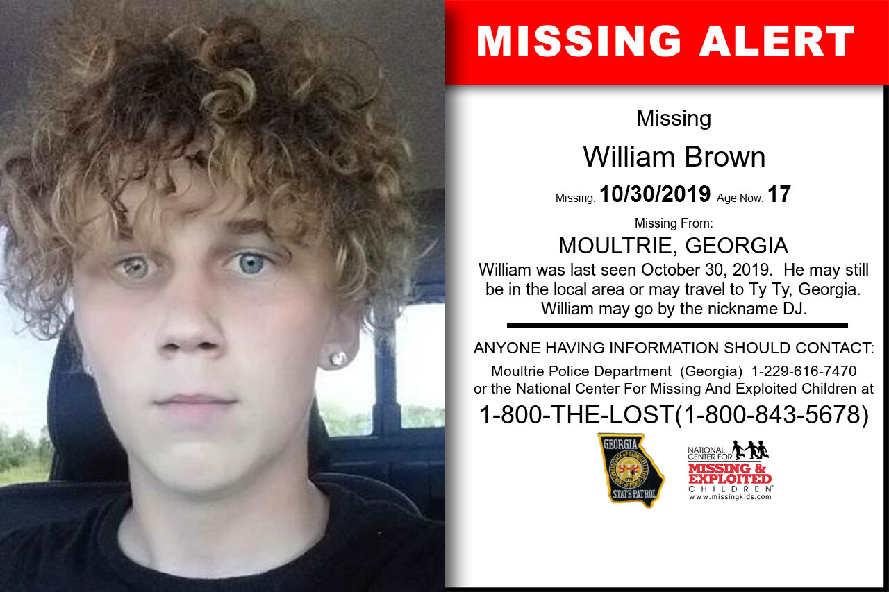 William_Brown missing in Georgia