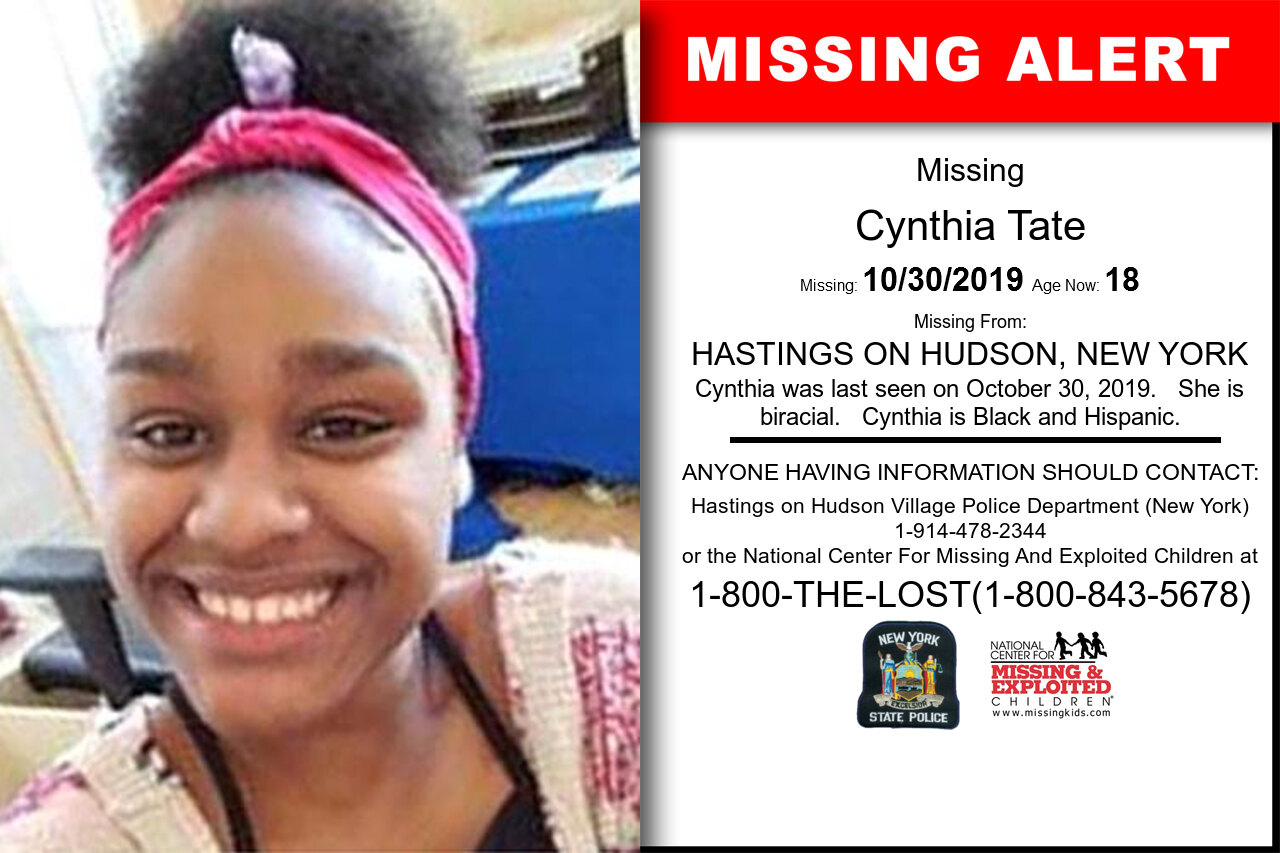 Cynthia_Tate missing in New_York