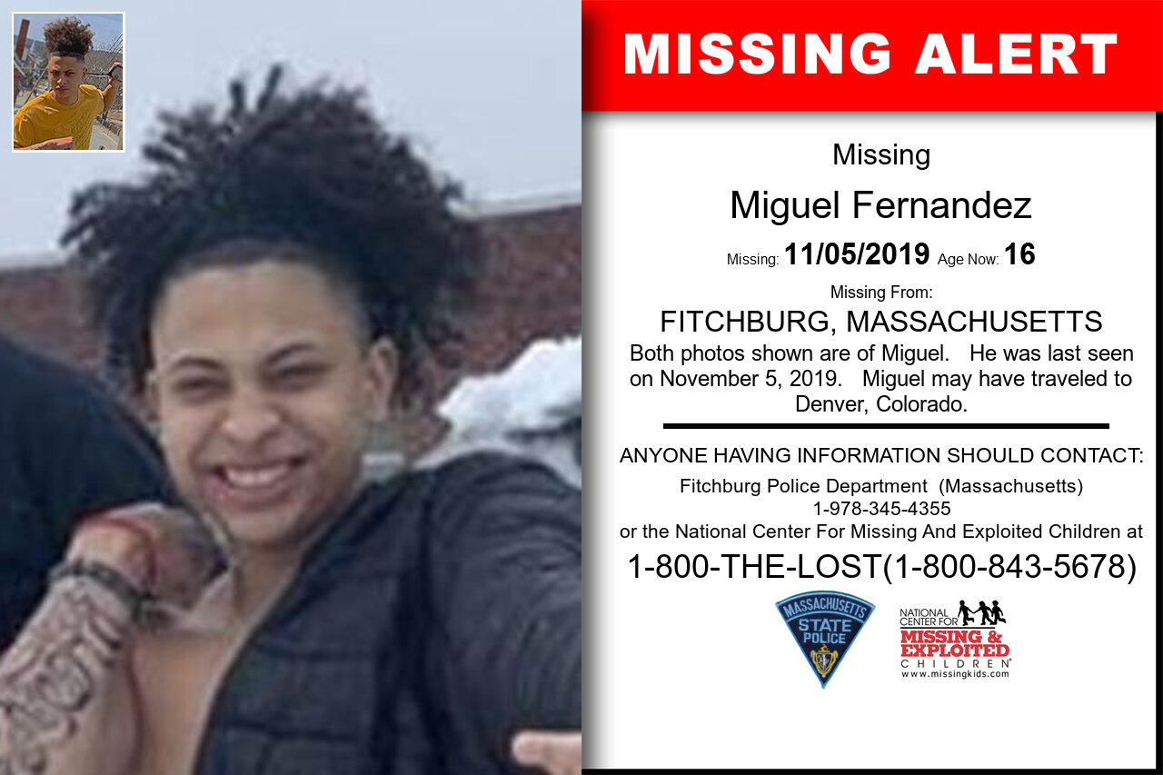 MIGUEL_FERNANDEZ missing in Massachusetts