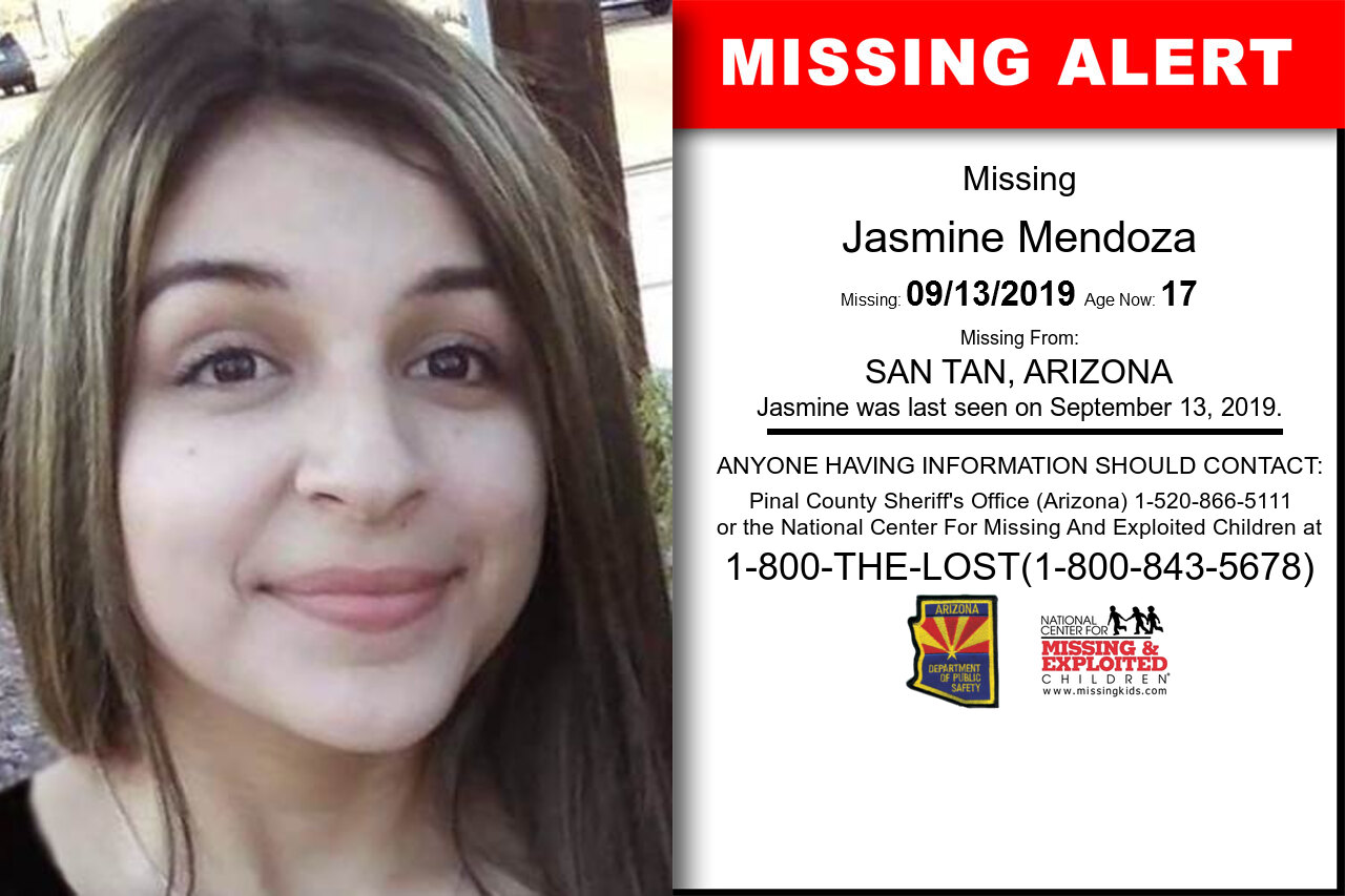 Jasmine_Mendoza missing in Arizona