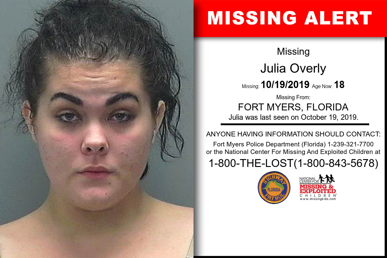 Julia_Overly missing in Florida