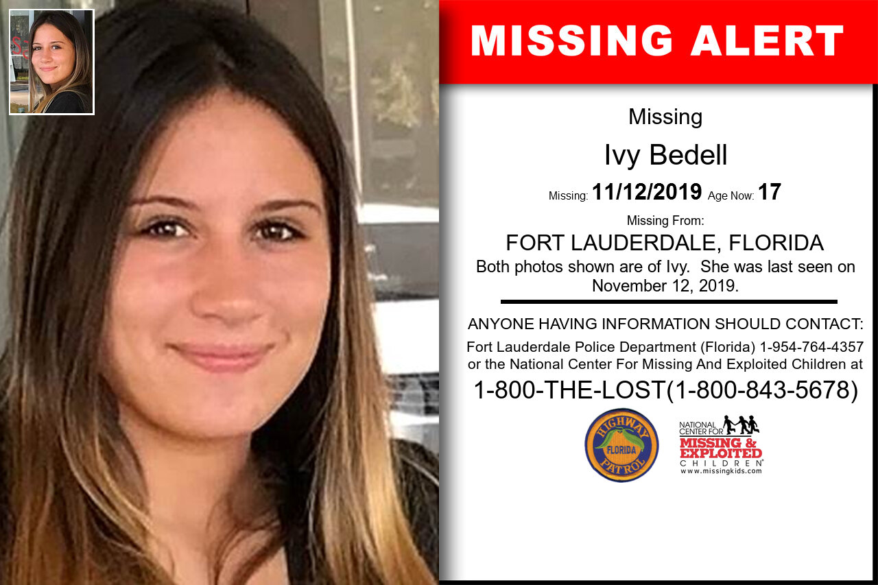 Ivy_Bedell missing in Florida
