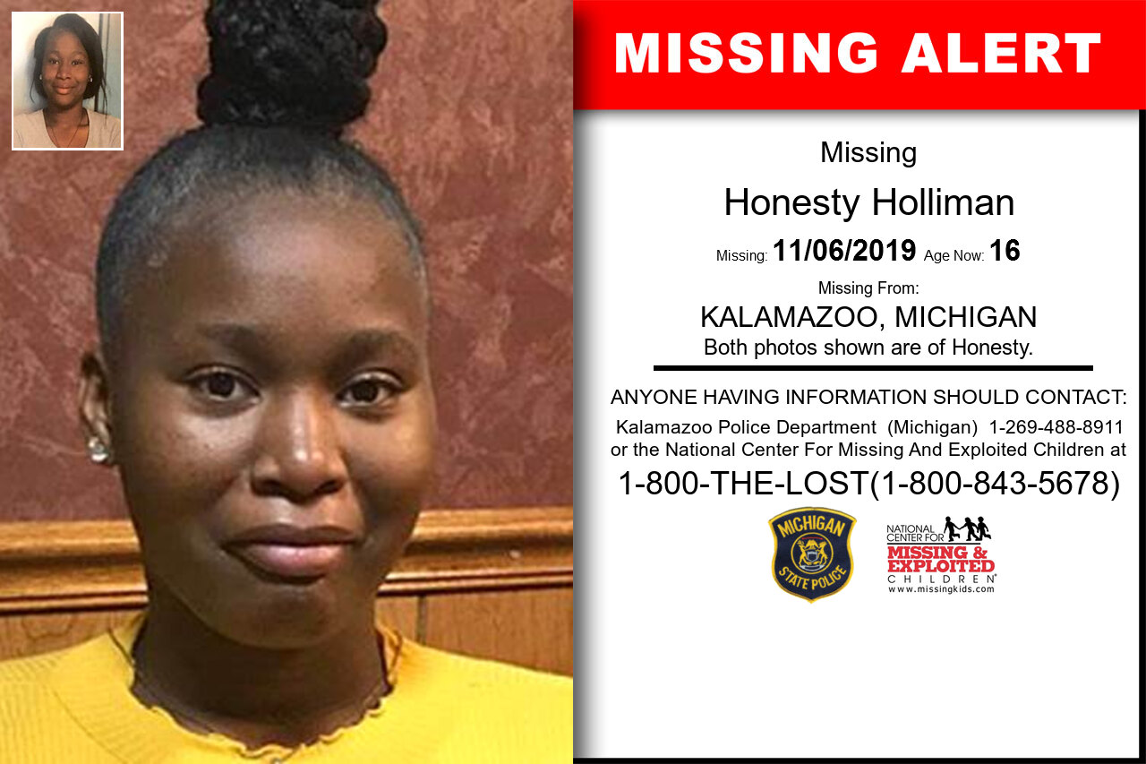 HONESTY_HOLLIMAN missing in Michigan