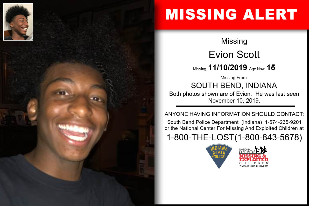 EVION_SCOTT missing in Indiana