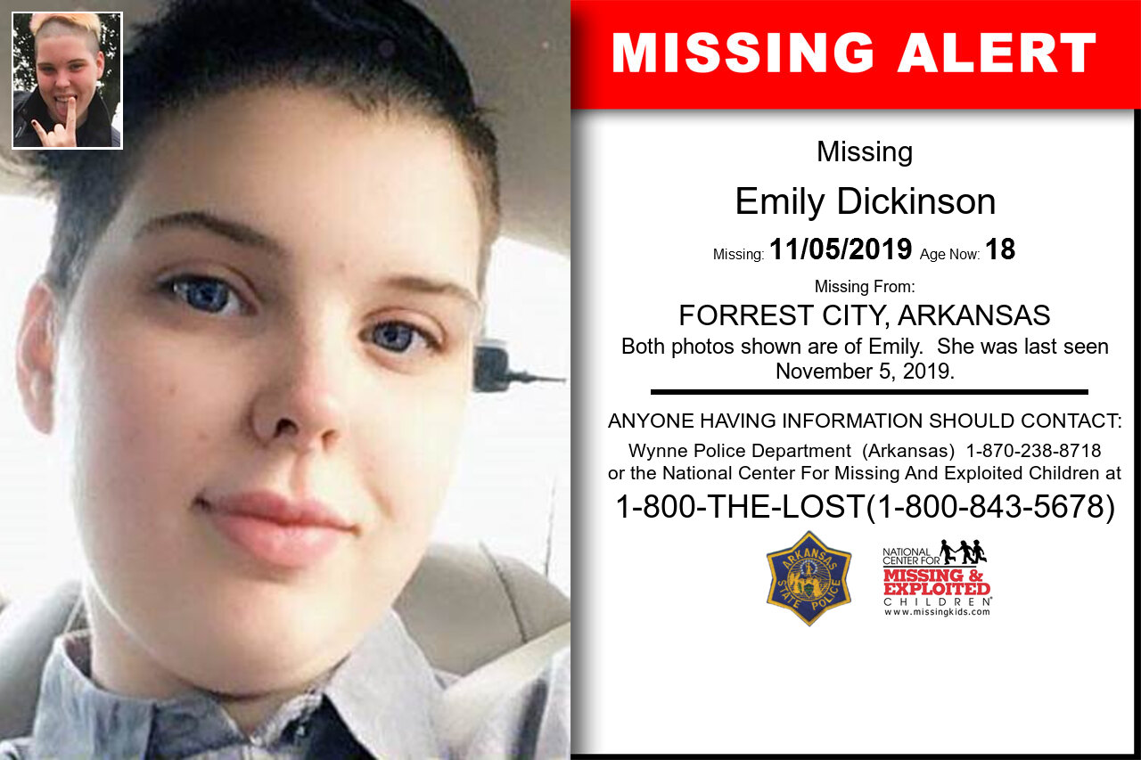 EMILY_DICKINSON missing in Arkansas