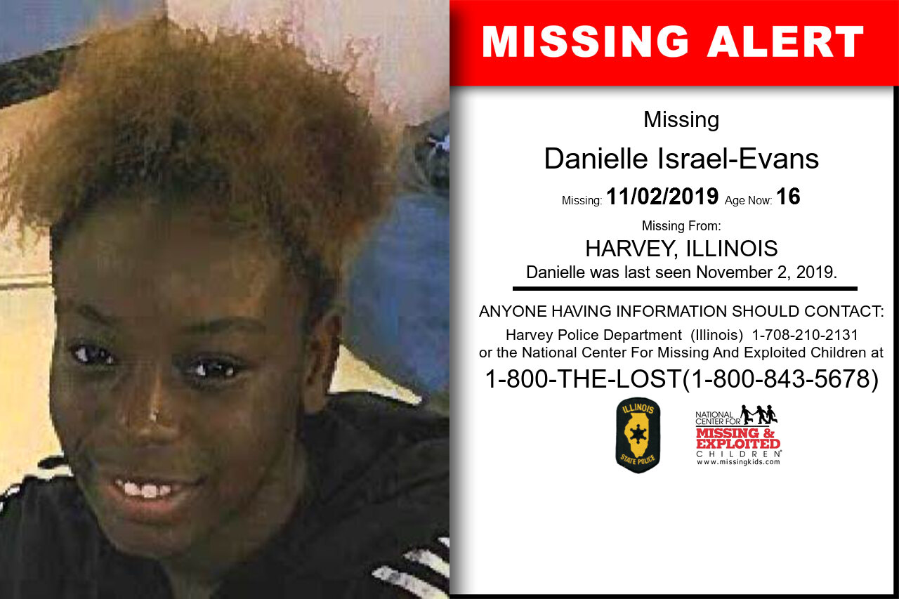 Danielle_Israel-Evans missing in Illinois