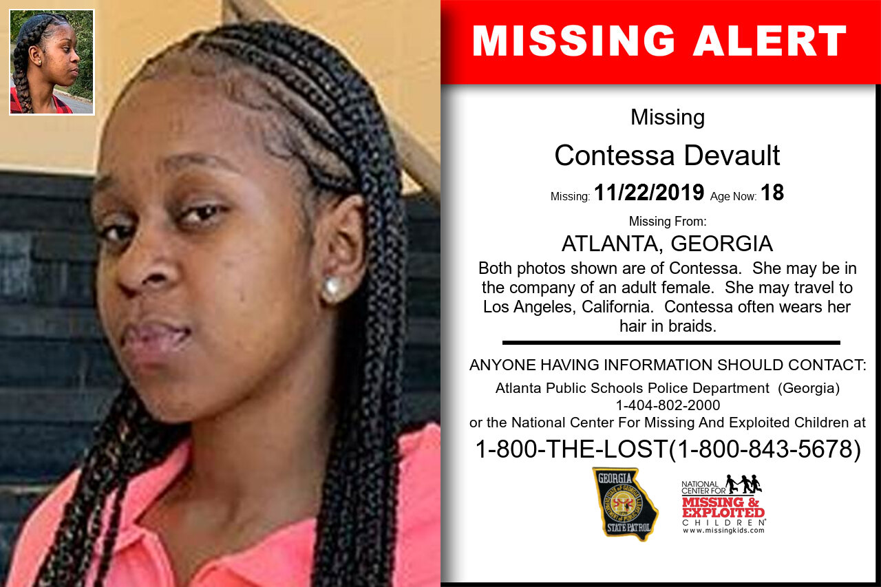 CONTESSA_DEVAULT missing in Georgia