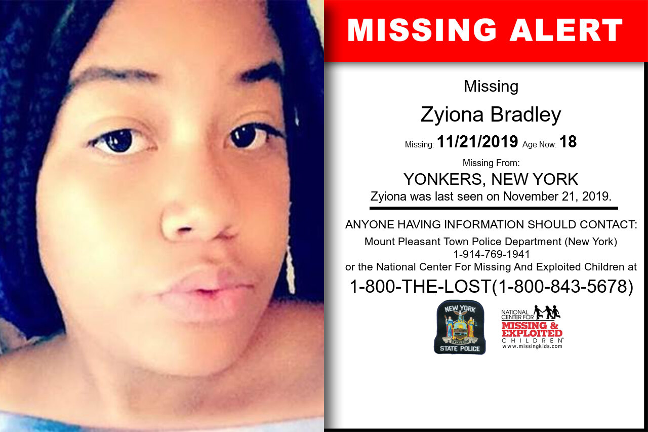 Zyiona_Bradley missing in New_York