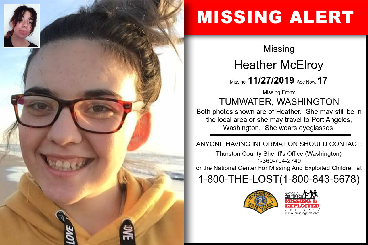 Heather_Mcelroy missing in Washington