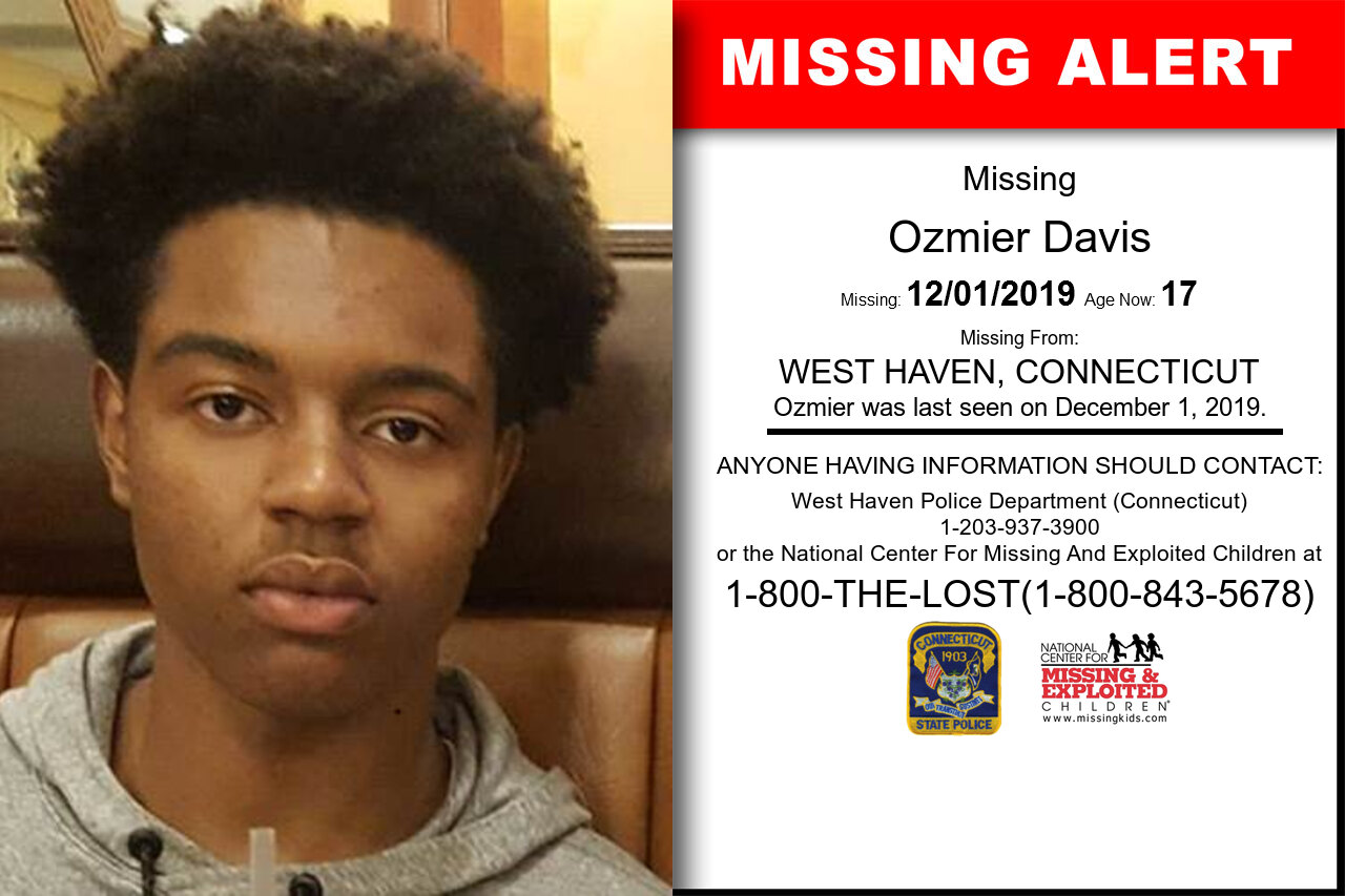 OZMIER_DAVIS missing in Connecticut