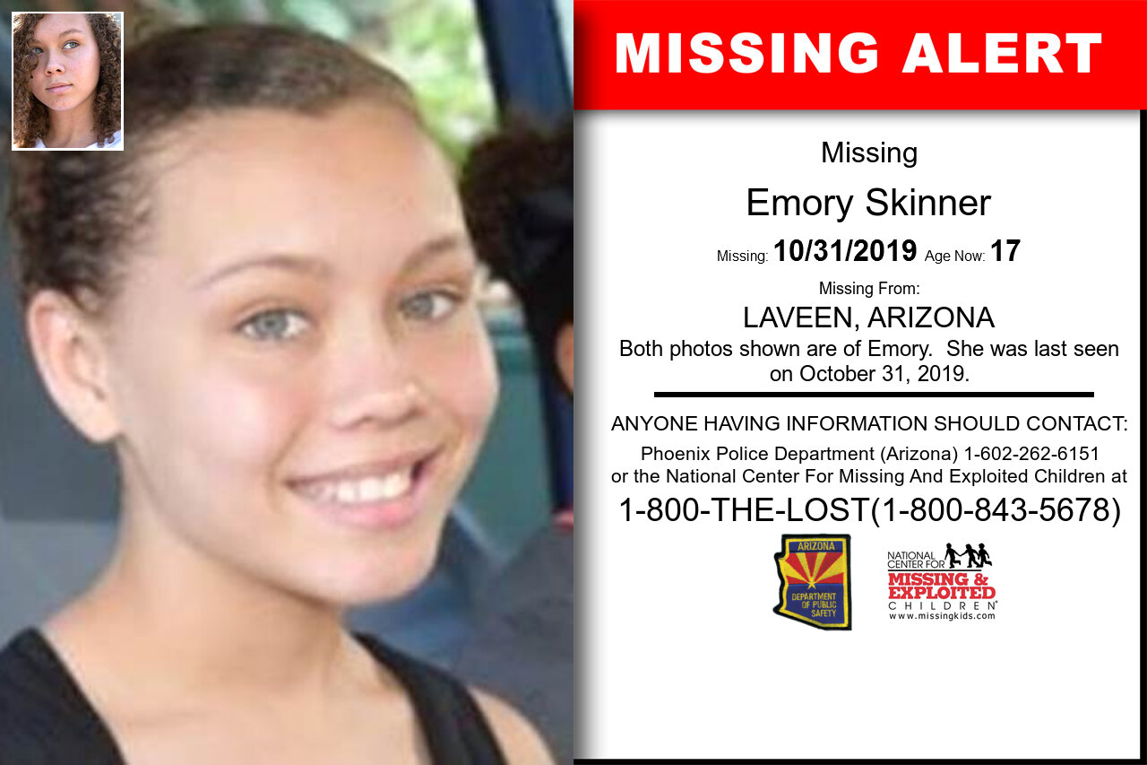 Emory_Skinner missing in Arizona