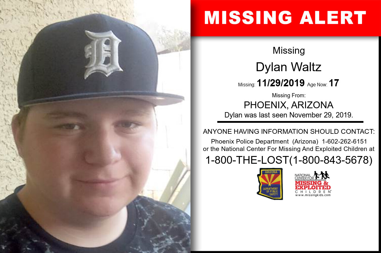 Dylan_Waltz missing in Arizona