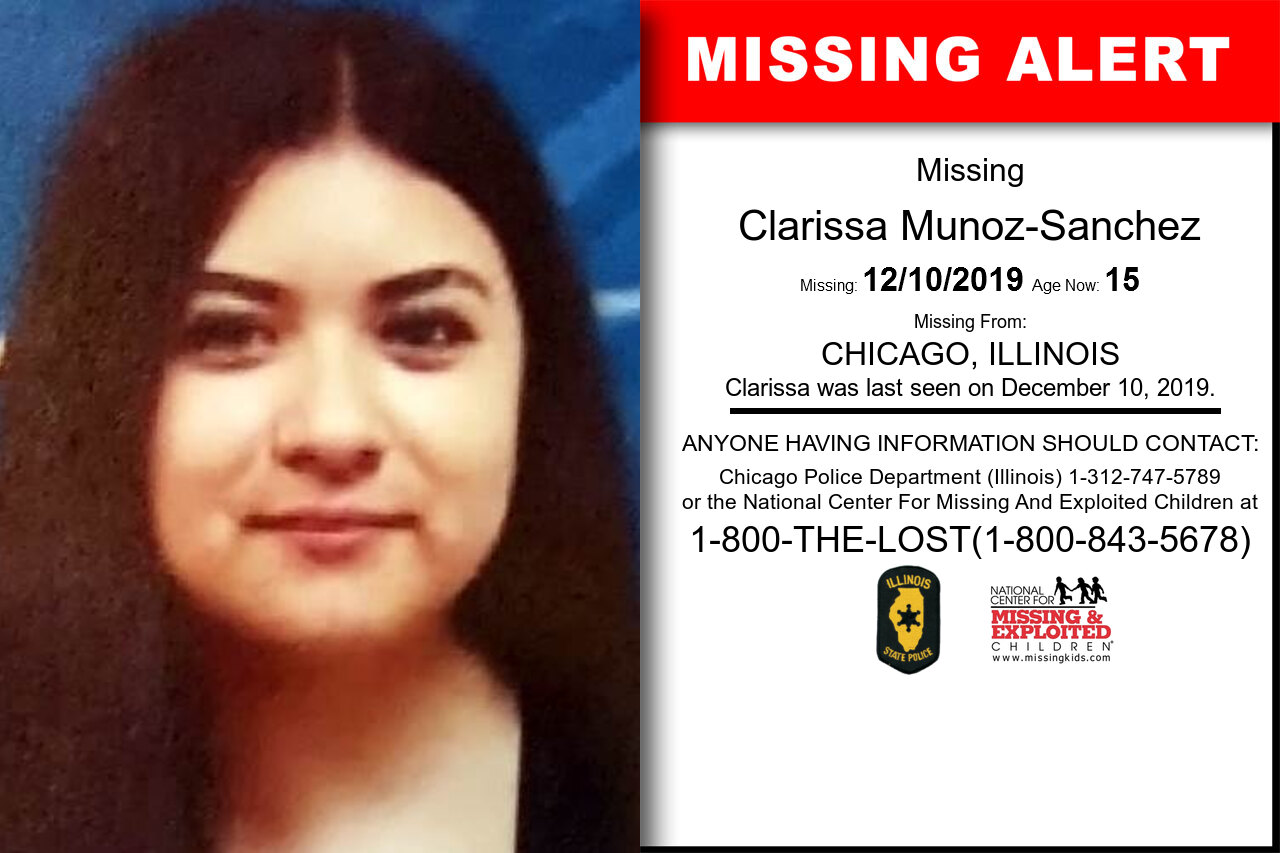 Clarissa_Munoz-Sanchez missing in Illinois
