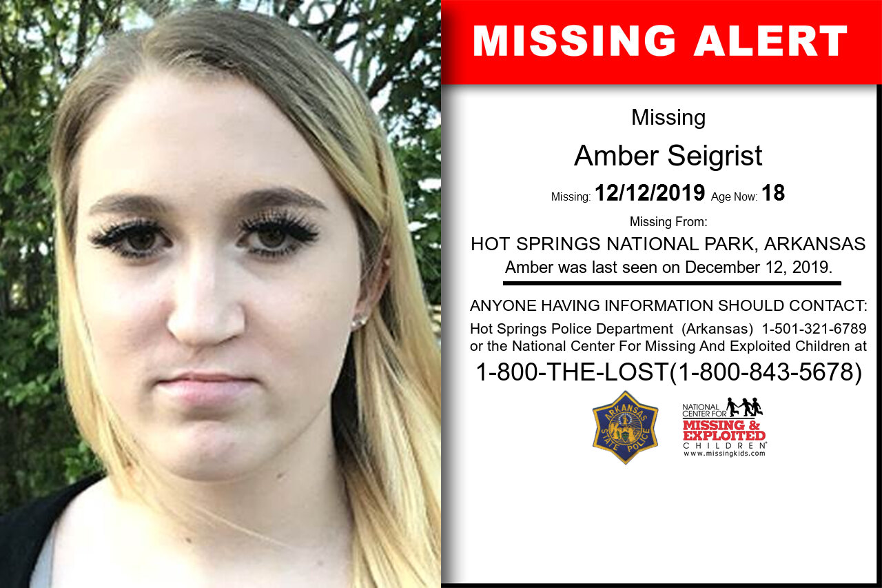 AMBER_SEIGRIST missing in Arkansas