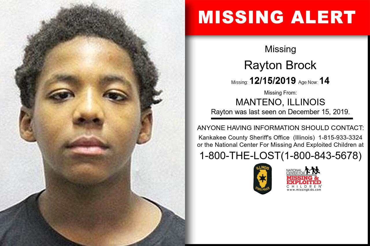 Rayton_Brock missing in Illinois