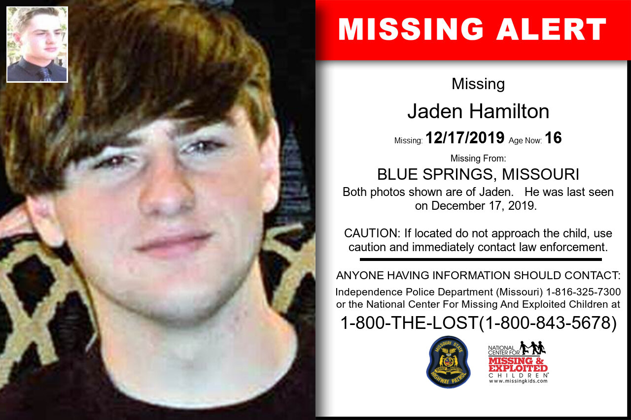JADEN_HAMILTON missing in Missouri