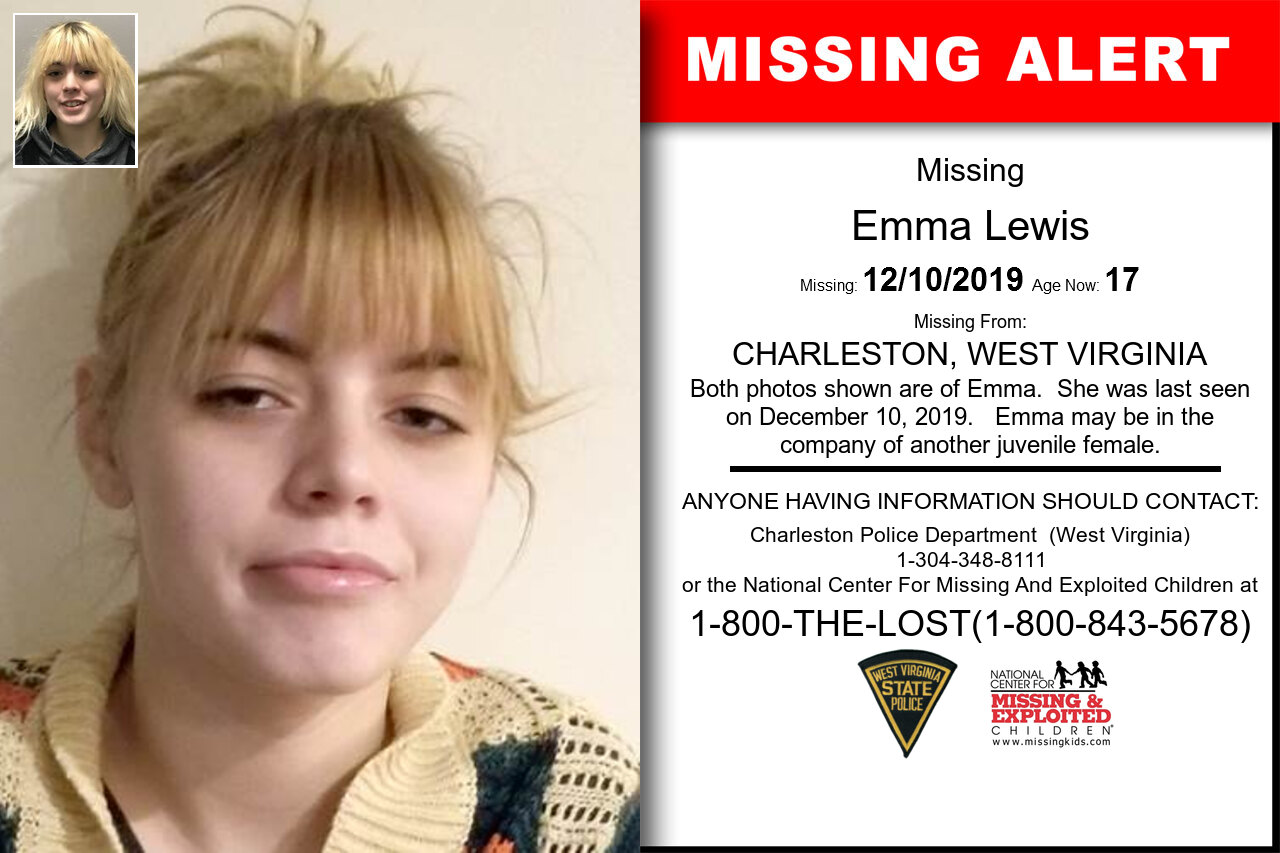 EMMA_LEWIS missing in West_Virginia