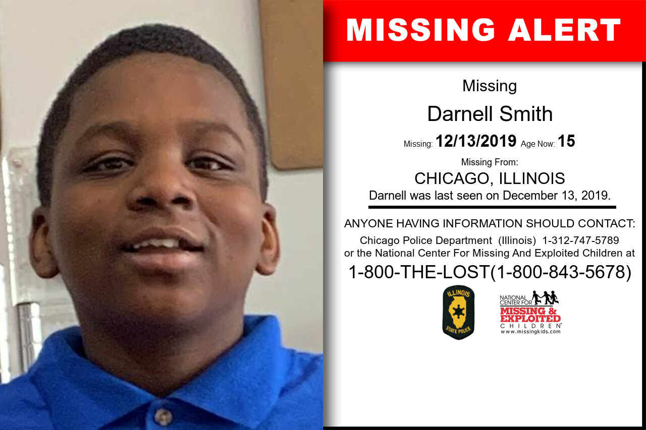 Darnell_Smith missing in Illinois