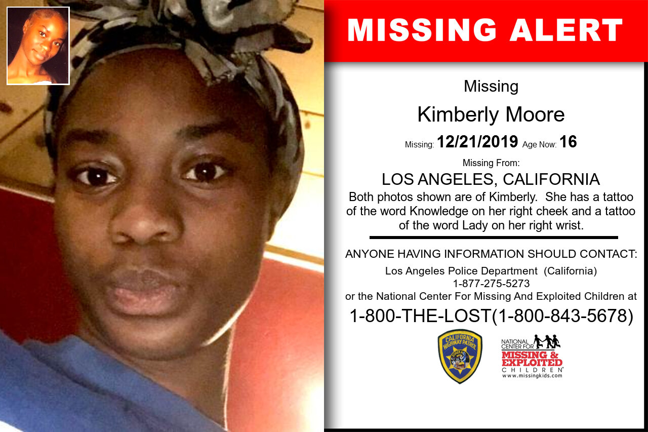 KIMBERLY_MOORE missing in California