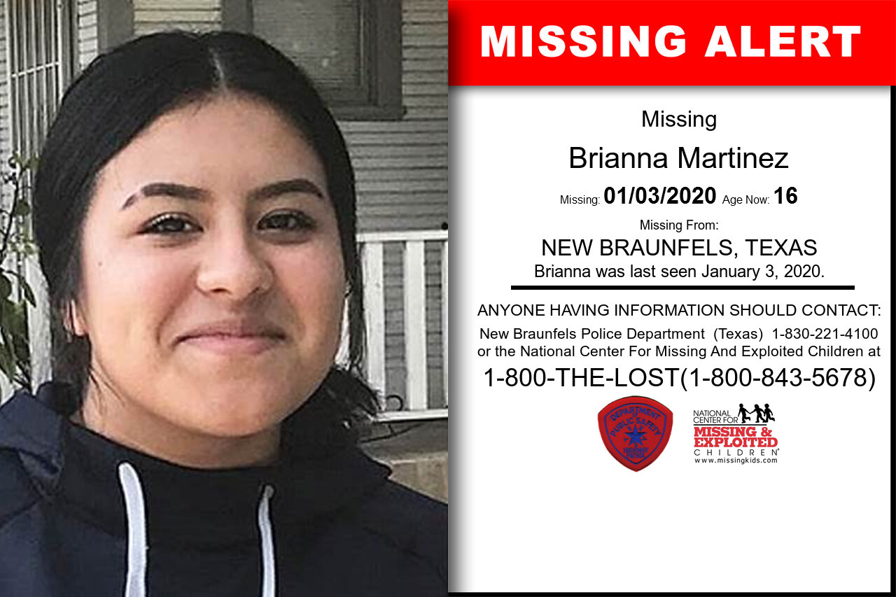 Brianna_Martinez missing in Texas