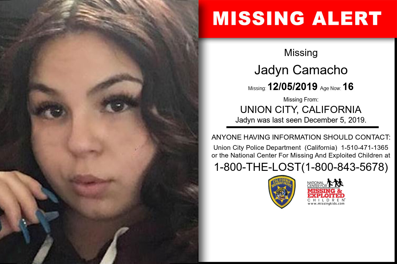 JADYN_CAMACHO missing in California