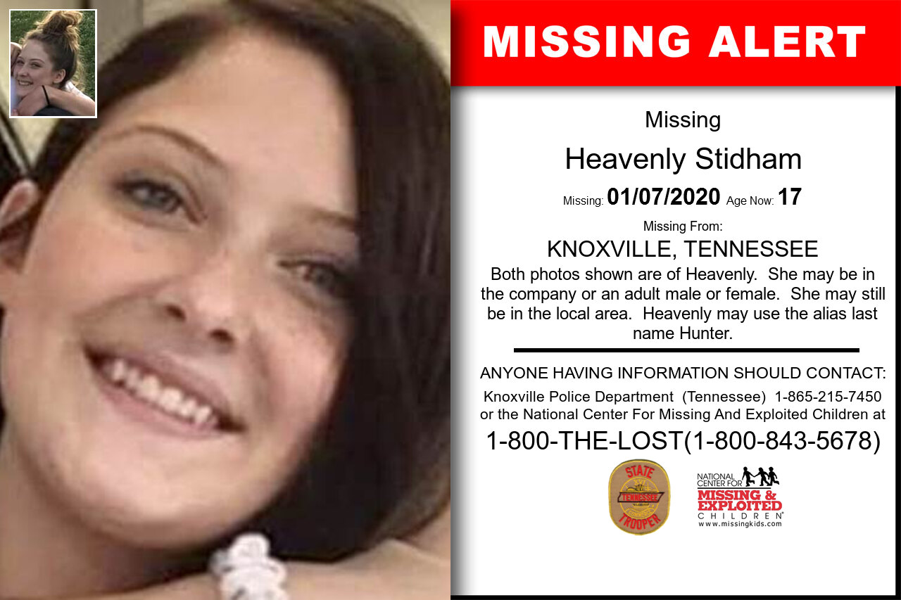 HEAVENLY_STIDHAM missing in Tennessee