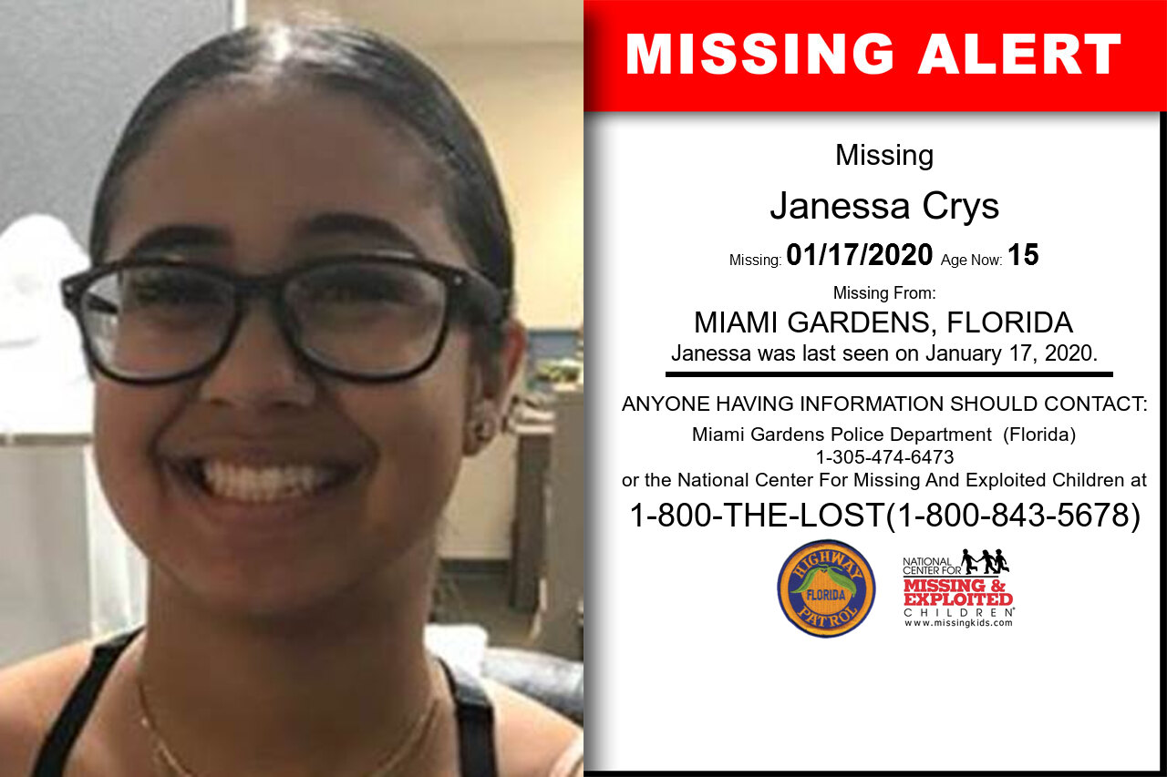Janessa_Crys missing in Florida